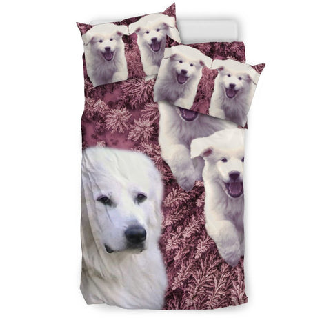 Amazing Great Pyrenees Dog Print Bedding Set-Free Shipping