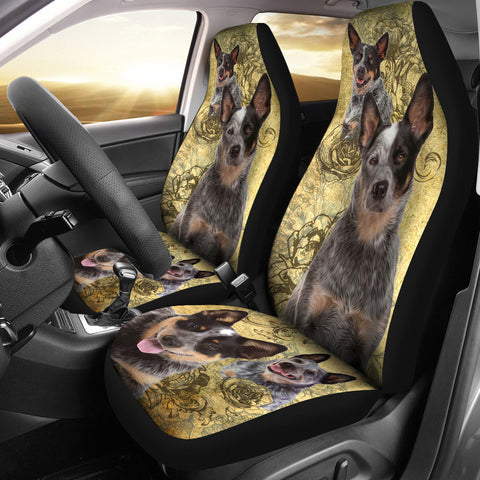Australian Cattle Dog Car Seat Covers (Set of 2)