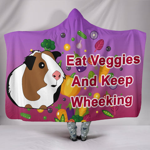 Guinea Pig Lovers Hooded Blanket