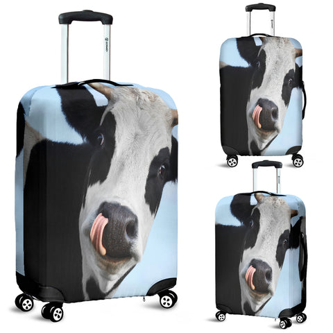 Funny Cow Luggage Cover