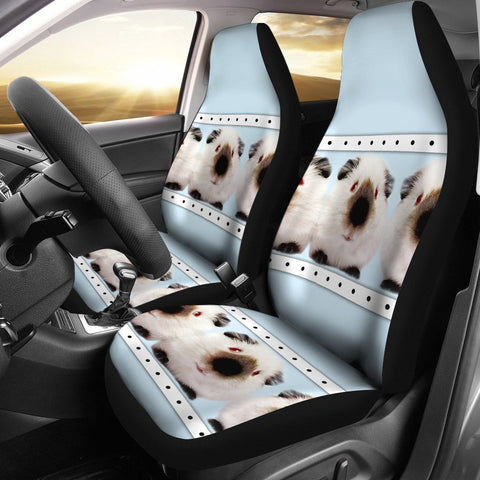 Amazing Himalayan guinea pig Print Car Seat Covers-Free Shipping