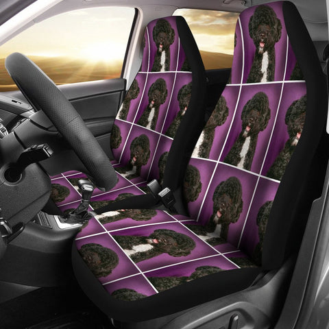 Spanish water dog Patterns Print Car Seat Covers-Free Shipping