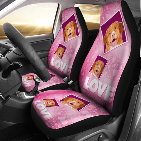 Nova Scotia Duck Tolling Retriever Love Print Car Seat Covers-Free Shipping