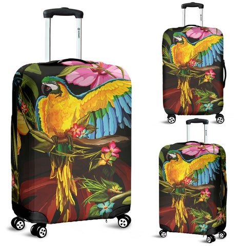 Parrot Luggage Cover