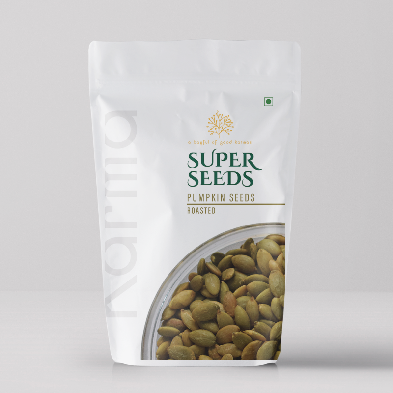 Roasted Pumpkin Seeds- Pack of 2 - Karma Foods