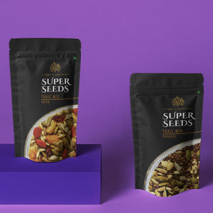 Karma Foods Combo- Orion Trail Mix (100g) and Pegasus Trail Mix (100g) - Karma Foods