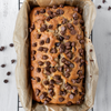 Protein+ Peanut Butter Choc Chip Banana Bread with Mayver's