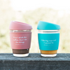 Peach 'Fill me up' Eco Cup