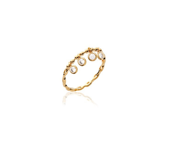 DELPHINE DANGLE RING