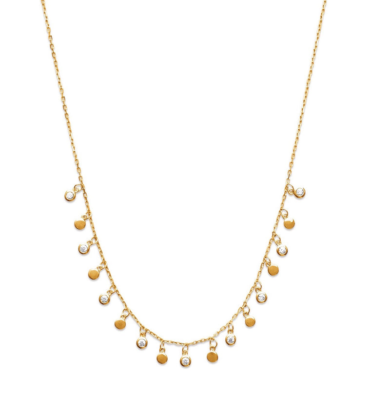 DELPHINE DANGLE NECKLACE