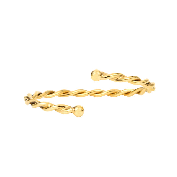 THIN TWISTED BANGLE
