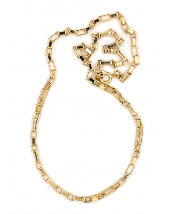 collier maille carrée luj paris