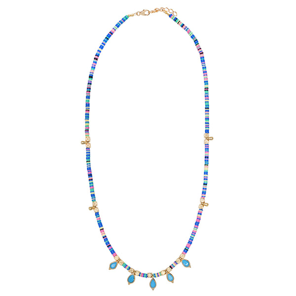 Collier Bindi Bleu