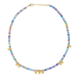 Collier mini étoiles Sunset