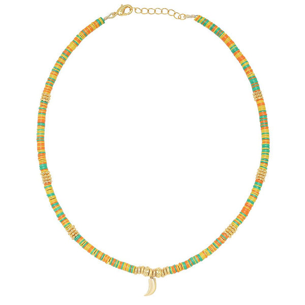 Collier mini corne Pico
