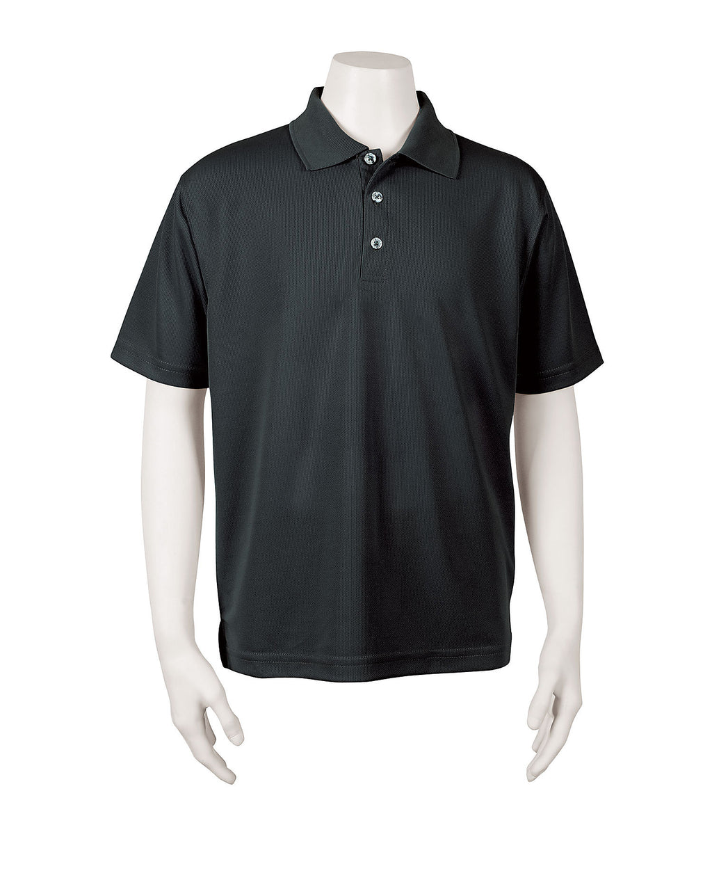 Youth Unisex Solid Mesh Polo