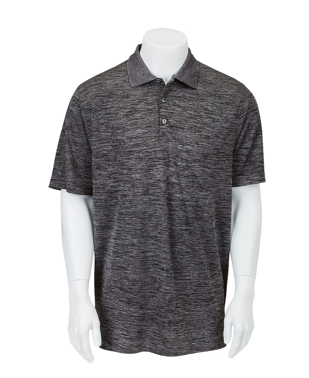 Men's Performance Striated Polo