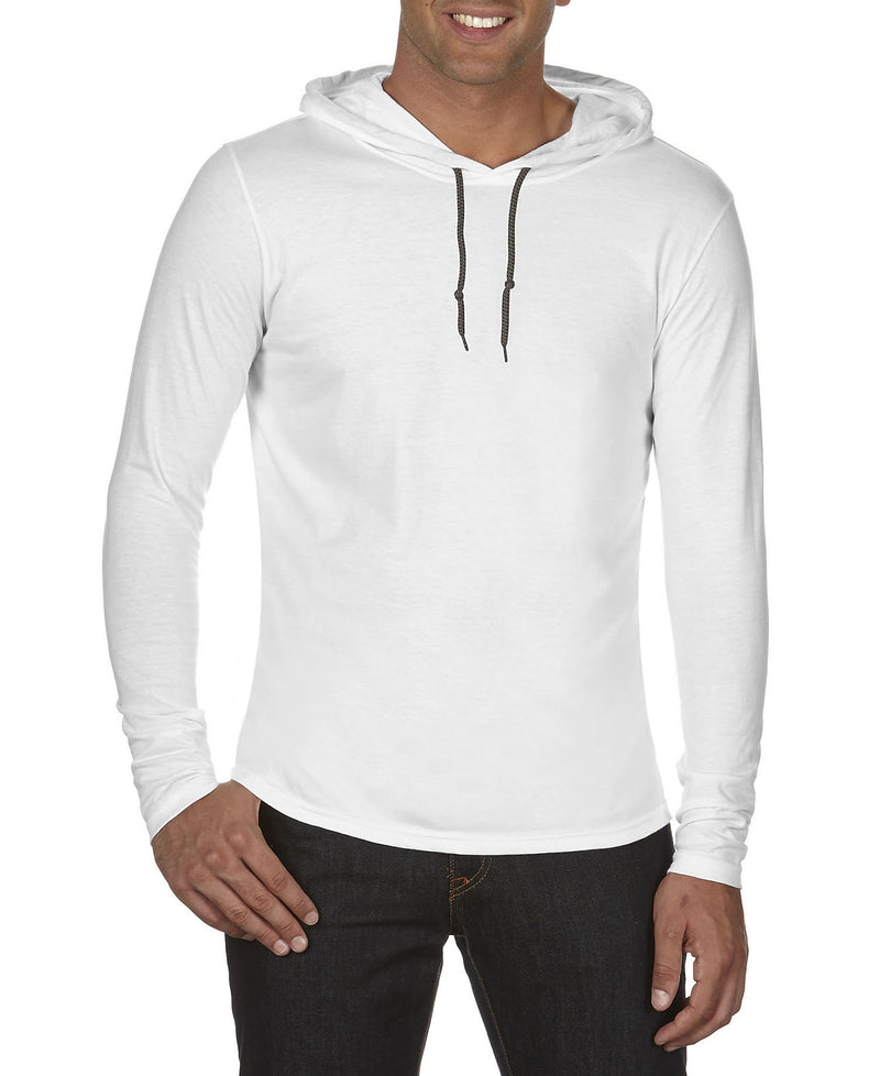 Unisex Long Sleeve Hooded Shirt