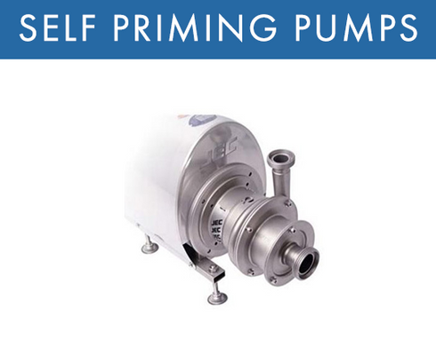 Self Priming (CIP Return) Pumps