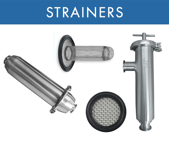 Tri-Clamp® Strainers and Filters
