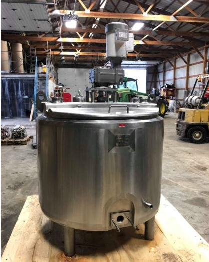100 Gallon Batch Pasteurizer - 2