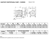 C-100 centrifugal pump (temp)