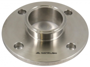 Tri-Clamp® X 150# FF Flange Adapter.