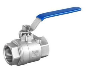 Industrial Ball Valve, 2-pc Full Port