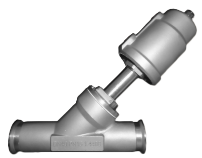 Angle Seat Valves (Clamp)