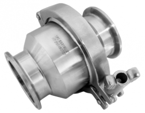 "4"" Sanitary Tri-clamp Check Valve, SS 304"