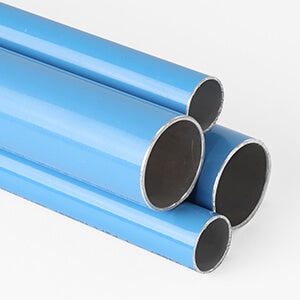 Fastpipe Blue Aluminum Pipe (9 ft. 10 in.)