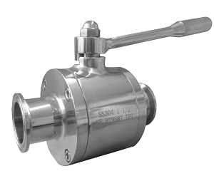 3-Piece Sanitary High Purity Ball Valve
