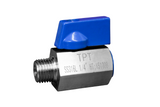 Stainless Steel (316L) Mini Ball Valve Male x Female NPT