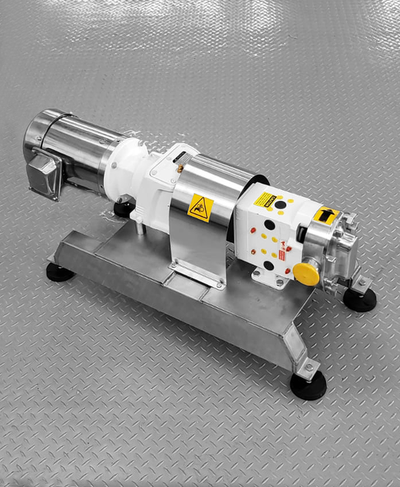 Sanitary Positive Displacement Pump TRA-10 Houston Texas