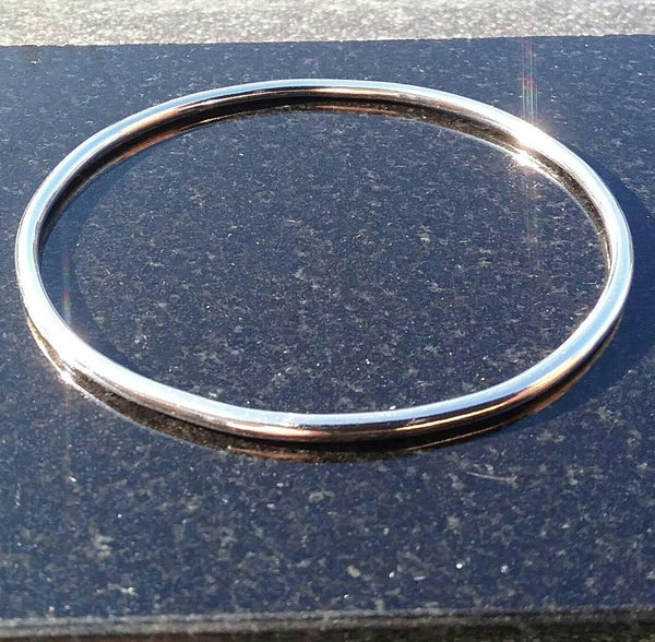 Slim Sterling Silver Bangle