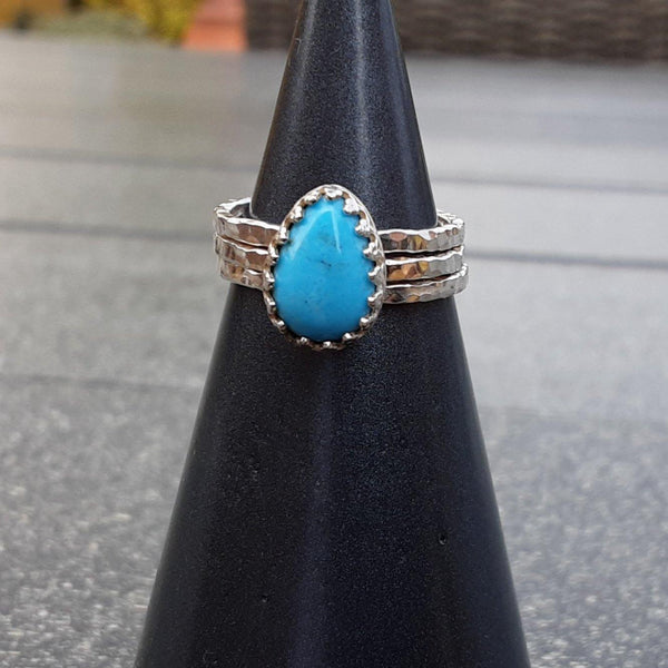 Turquoise Stacking Ring Set