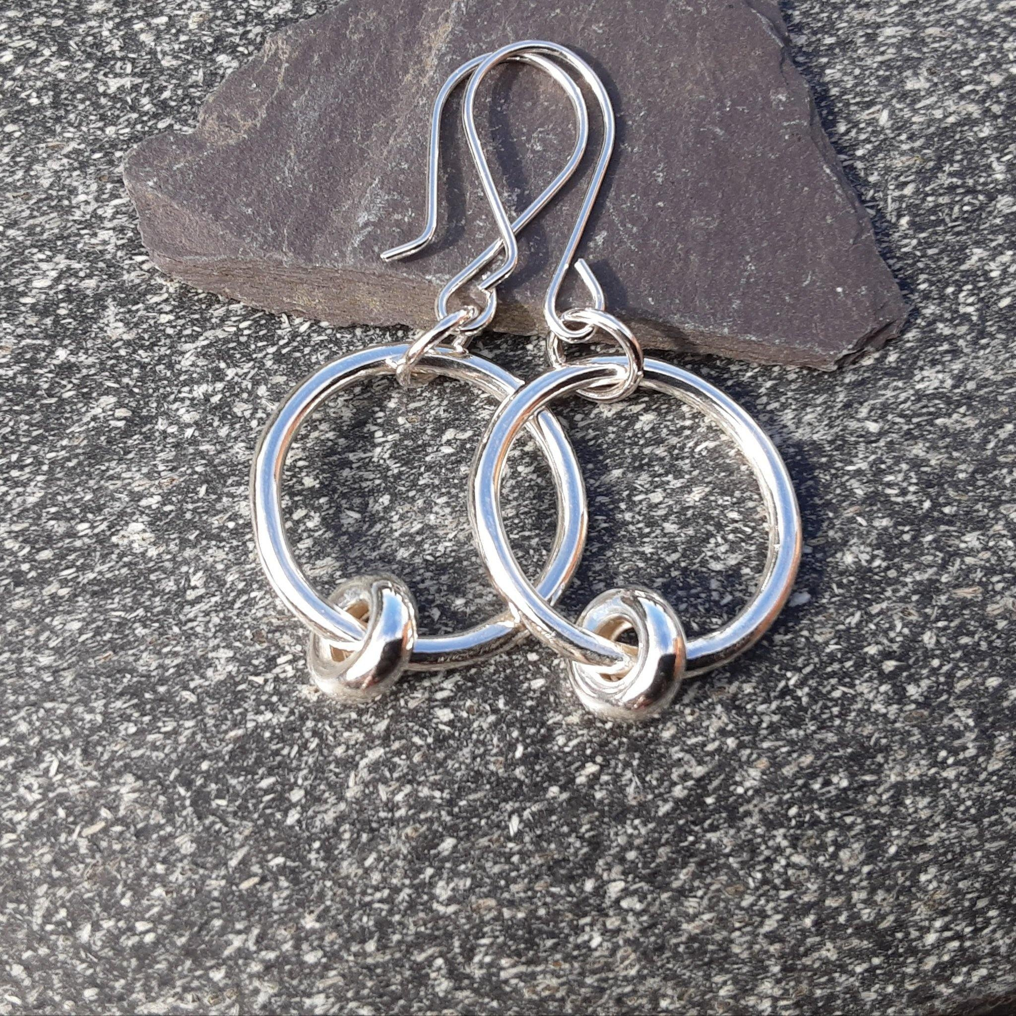 Sterling Silver Twiddler Earrings - PurplePixiebyDenise