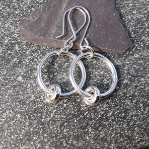 Sterling Silver Twiddler Earrings