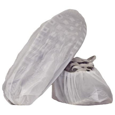 DISPOSABLE WHITE OVERSHOE (WATERPROOF)