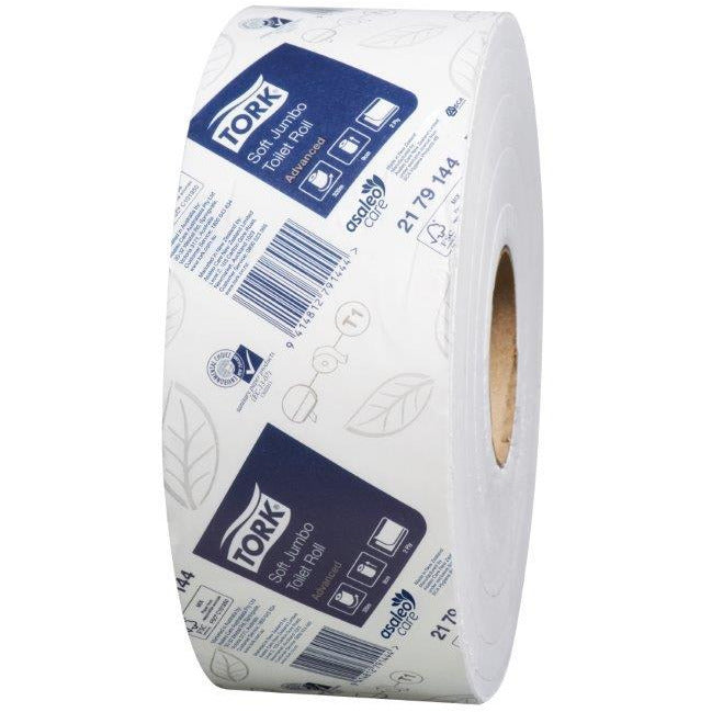 TORK SOFT JUMBO TOILET ROLL 2PLY (2179144)