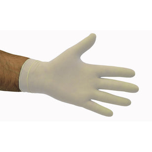 LATEX POWDER FREE DISPOSABLE GLOVES