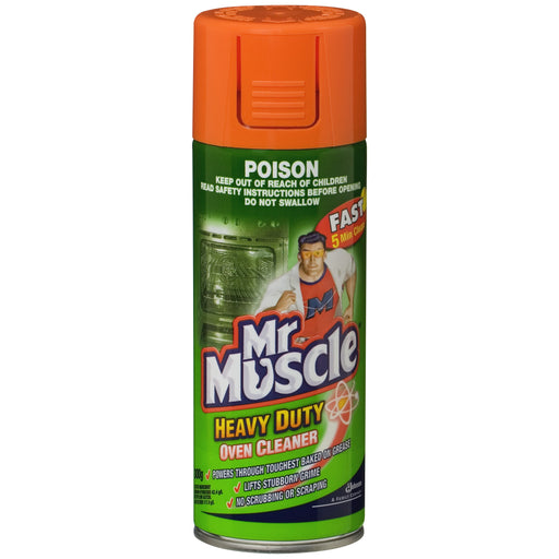 MR MUSCLE NON CAUSTIC OVEN CLEANER