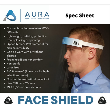 AURA STANDARD FACE SHIELD