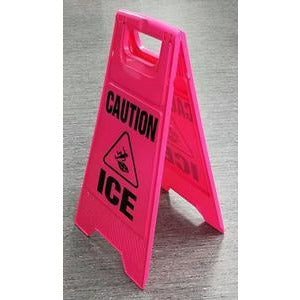 "Caution ""ICE"" Sign"