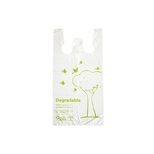 ECOBAGS DEGRADABLE SINGLET BAGS