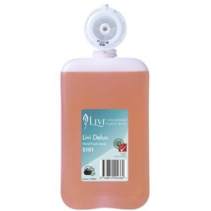 LIVI DELUX FOAMING SOAP