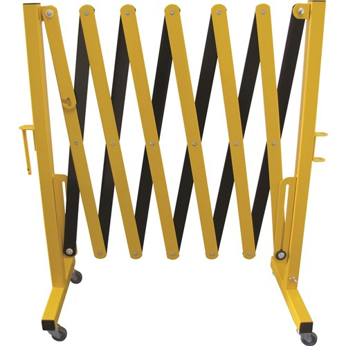 EXPANDABLE SAFETY BARRIER - YELLOW/BLACK