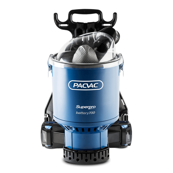 PACVAC SUPERPRO BATTERY BACK PACK VACUUM