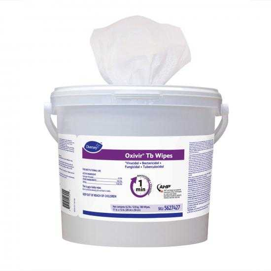 DIVERSEY OXIVIR® TB WIPES TUB 160 WIPES