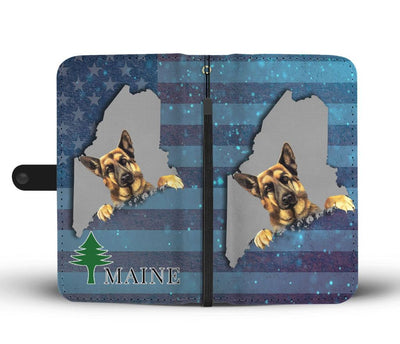 German Shepherd Dog IPhone/Android Wallet Case